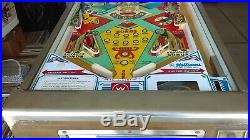 1975 Williams Little Chief 4 Player Electro-Mechanical Pinball Working Shopped