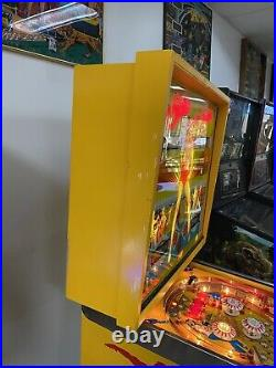 1978 BALLY STriKES AND SPARES PINBALL MACHINE CLASSIC LEDS PLAYS GREAT BOWLING