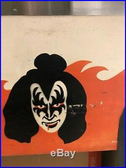 1978 Kiss Pinball Machine, Signed With Psa/dna, In Southern California