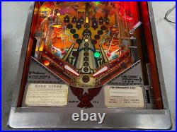 1986 Williams Road Kings Pinball Machine Classic Leds Plays Great