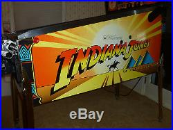 1993 Williams INDIANA JONES Pinball Machine, Excellent Condition, HUO since 1995