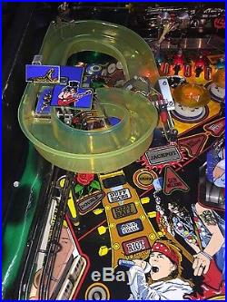 1994 Data East Guns N' Roses pinball early production / prototype super clean
