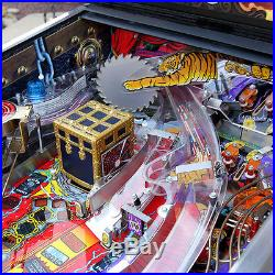 1995 Theatre of Magic Pinball Machine Supreme Restored clearcoated playfield