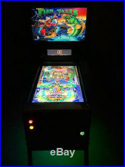 4K Back To The Future Full Size Virtual Pinball Machine with Backglass Monitor