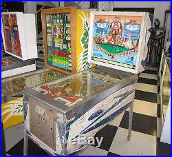8 BALL PINBALL MACHINE by WILLI AMS SOLD AS PROJECT GAME $199 SHIPPING