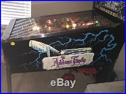 Addams Family Pinball Signed with Color Display