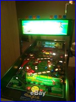 Alvin G and Co 2-Player Soccer Pinball Machine only 500 ever made