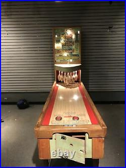Antique 1956 United's Shuffle Alley Rare 3 Player, Works