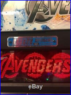 Avengers Limited Edtion Pinball Machine Excellent Condition