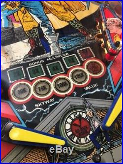 BACK TO THE FUTURE Data East Pinball Machine EXCELLENT. Professionally Serviced