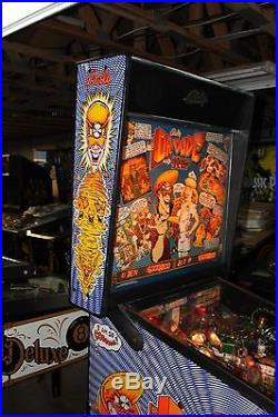 BALLY DR DUDE AND HIS EXCELLENT X RAY PINBALL MACHINE PLAYS FINE ALL SHOP OUT