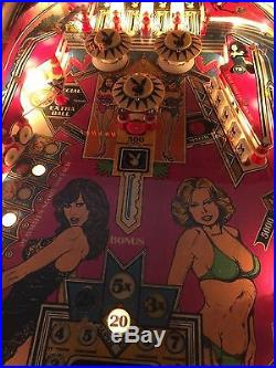 Bally Playboy 1978 Pinball Machine 99 Cent No Reserve Time To Clean Out