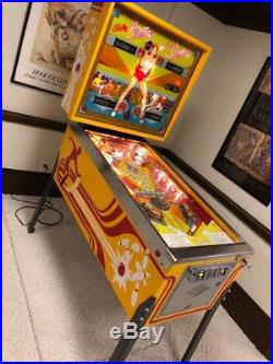 Bally Strikes and Spares Pinball Machine One Owner Circa 1970 Looks great