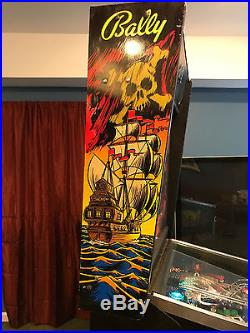 Black Rose Pinball Machine made by Bally in July of 1992