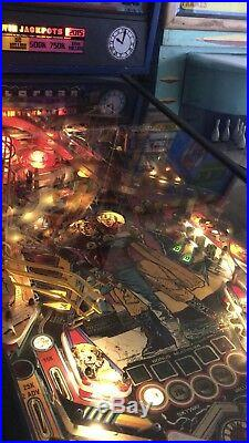 Coin Operated BACK TO THE FUTURE Pinball Original Working Upgraded Not A Phony