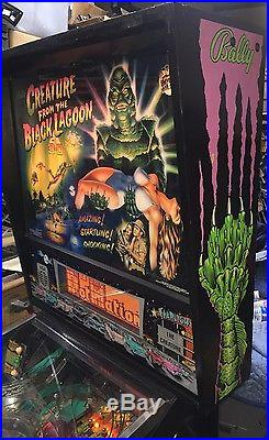Creature From The Black Lagoon Pinball Machine By Bally Coin Op