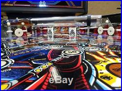 Cybernaut Pinball Machine by Bally, 1985 Cool Art, Lots of pictures, Excellent