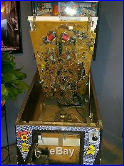 DR. DUDE And His EXCELLENT RAY Pinball Game Machine- FREE SHIPPING- Bally 1990