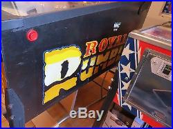 Data East WWF ROYAL RUMBLE pinball machine incredible collector quality conditio