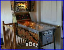 Eight Ball Deluxe Limited Edition Bally Pinball Machine NO Reserve