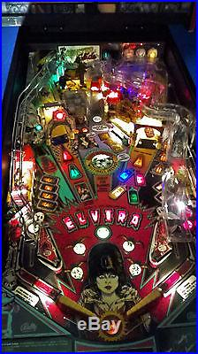Elvira And The Party Monsters Pinball Machine-Monstrous