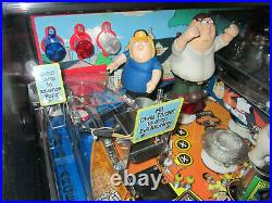 FAMILY GUY Arcade Pinball Machine STERN 2007 (Custom LED & Excellent Condition)