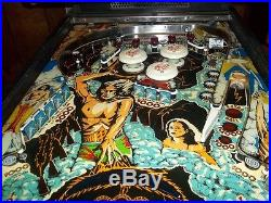 FLASH PINBALL MACHINE BY WILLIAMS! SHOPPED! LED'S! NO RESERVE