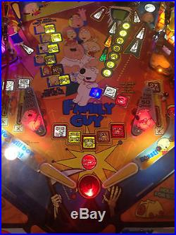 Family Guy Pinball Machine HUO with tons of mods NR