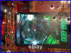 Gottlieb Haunted house pinball 1982 with LED's, works great! Arcade