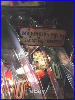 Hitchhiker Sign MOD for Stern's The Walking Dead pinball machine BRAND NEW