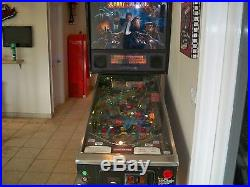 JOHNNY MNEMONIC Pinball Machine Williams 1995 Great Game New LED and rubbers