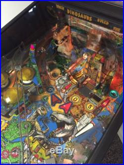 Jurassic Park Pinball Machine by Data East Great Condition