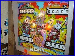 King Rock pinball machine Gottlieb WOW! CLEAN@OHIO I will work with your shipper