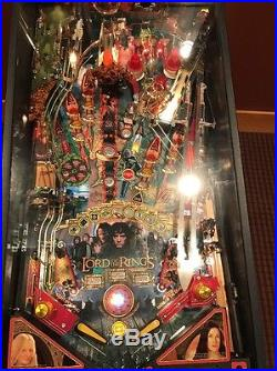 lord of the rings pinball machine