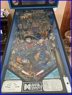 Lethal Weapon 3 Pinball Machine Data East 1992