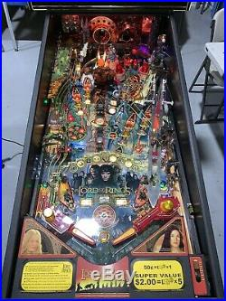 Lord of the Rings Machine By Stern Arcade Home Use Only 2005 LEDs Free Shipping