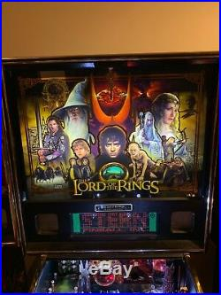 Lord of the rings le pinball machine