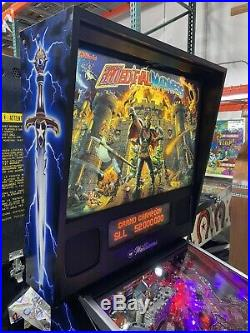 Medieval Madness Pinball Machine Williams Coin Op Arcade LEDS Free Shipping