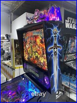 Medieval Madness Remake Royal Treatment Pinball Topper Color Display Free Ship