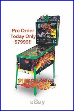 NEW Attack from Mars LIMITED EDITION Pinball Machine Remake, Deposit required