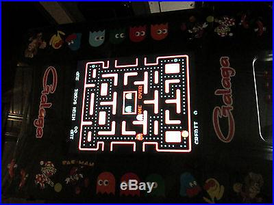 NEW Multicade Arcade Game 60 games Cocktail Table Expandable Ms. Pacman Galaga