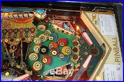 NICE BALLY EIGHT BALL DELUXE PINBALL MACHINE PLAYS FINE COMPLETLY REDONE