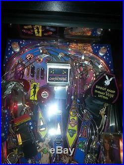 PLAYBOY PINBALL MACHINE 50TH ANNIVERSARY EDITION in perfect condition