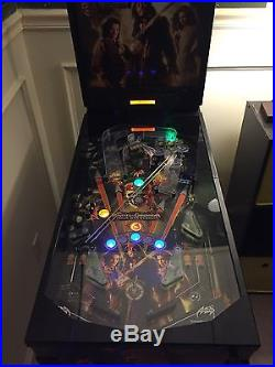 Pirates Of The Carabean. Zizzle Pinball Machine. Great Condition