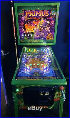 Primus Limited Edition Pinball Machine 1 of 100 Stern Free Shipping