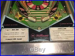 Rare 1967 BEATLES / BOOTLES BEAT TIME PINBALL MACHINE Great for Man Cave