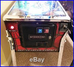Spiderman Black Pinball Machine By Stern Limited Edition 1 Of 500 Lots Mods Huo