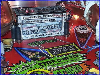 Scared Stiff Pinball Crate Mod & Spin Spider Hole Mod