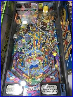 Simpsons Pinball Party Pinball Machine By Stern Coin Op Free Shipping