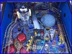 Star Wars Pinball Machine By Data East Arcade Coin Operated